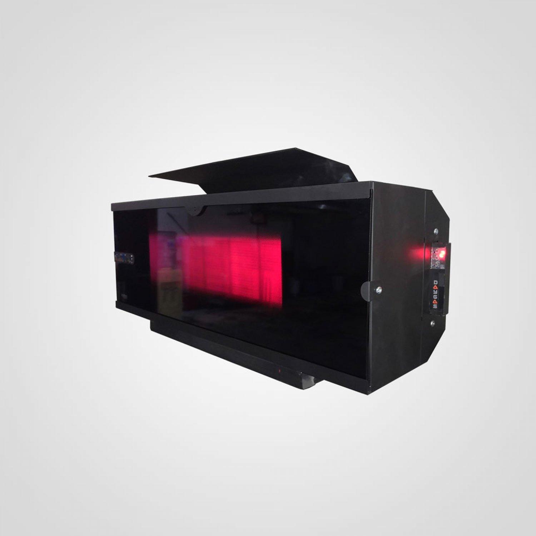 DSR 10 LCD Radyant Isıtıcı - Renkli