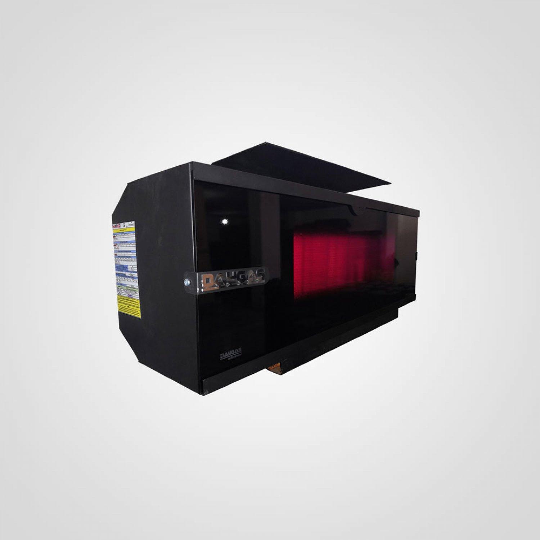 DSR 6 LCD PLUS Radyant Isıtıcı - Renkli