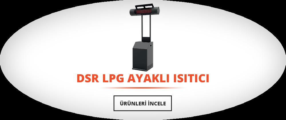 DSR LPG Ayaklı Isıtıcı